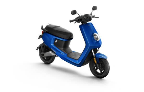 Niu M + Sport Blauw Elektrische Scooter – Scootermotive